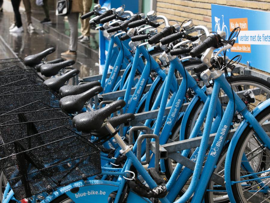 Deelfietsen Blue-bike