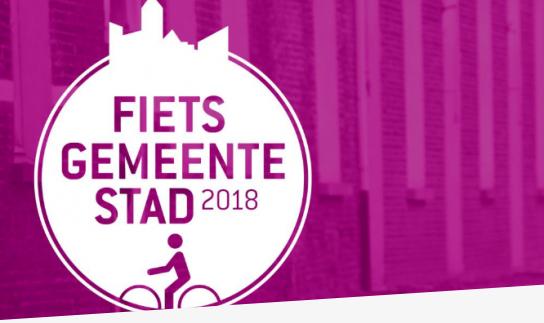 Negen steden en gemeenten genomineerd als fietsgemeente 2018