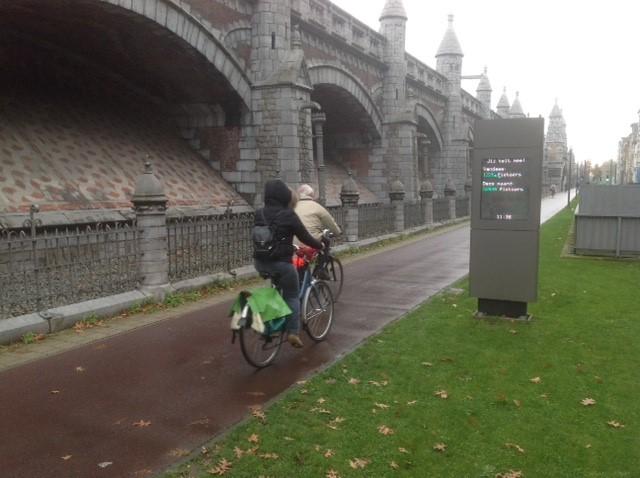 In provincie Antwerpen stijgt aantal fietsers met 1,9 procent